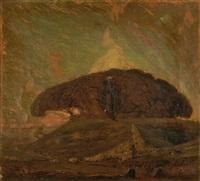 landschaft mit schafherde by jean philippe edouard robert