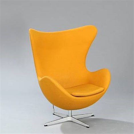 the egg chair model 3316 by arne jacobsen