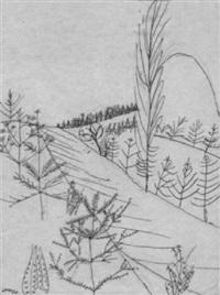 landschaft bei weimar by alfred lomnitz