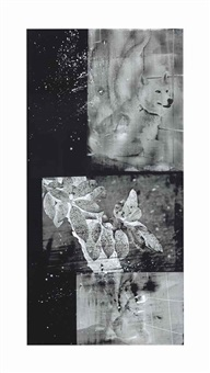 wolf wood (urban bourbon series) by robert rauschenberg