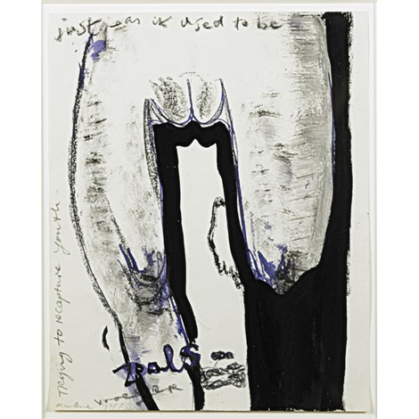 just as it used to be by marlene dumas