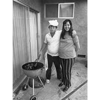 sunday afternoon we get it together. i cook the steaks and my wife makes the salad by bill owens