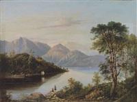 a highland loch landscape by charlotte nasmyth
