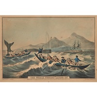 the whale fishery laying by nathaniel currier