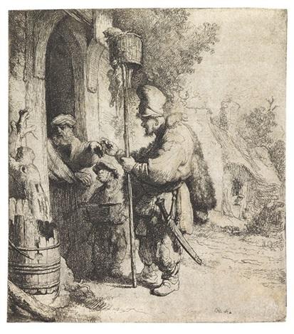 der rattengiftverkäufer by rembrandt van rijn