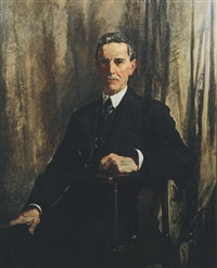 portrait of a gentleman by david alison
