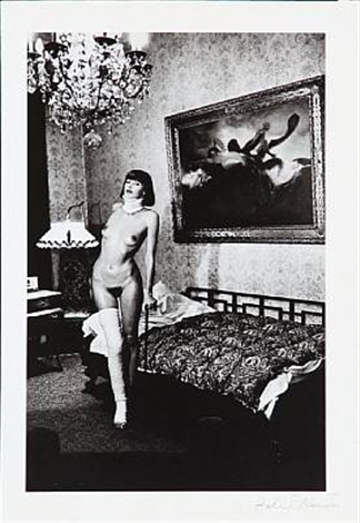 jenny kapitän pension dorian berlin 1977 by helmut newton