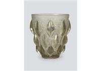 vase : rampillon by rené lalique