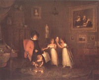 mrs. cumin of relugas with her grandchildren, 1826 by donald alexander
