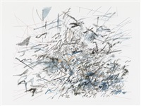 ilulissat (after jean valentine) by julie mehretu