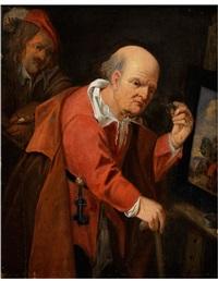 im atelier des malers by david ryckaert iii