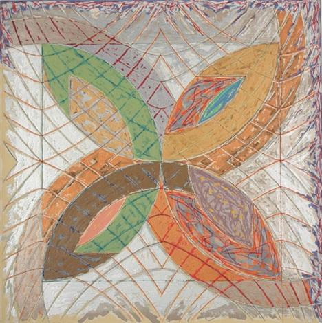 polar co ordinates variant ia by frank stella