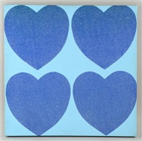 diamond dust hearts by andy warhol