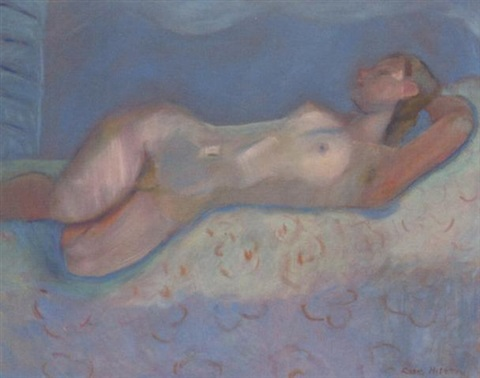 blue nude by rose hilton
