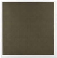 colors with lines in four directions (5 blätter) (5 works) by sol lewitt
