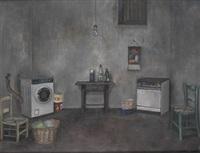 interior de la lavadora by amalia avia