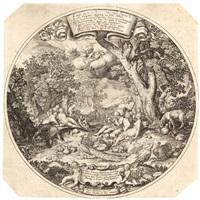 das goldene zeitalter (after abraham bloemaert) by johann theodor de bry