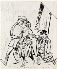 contretemps by george grosz