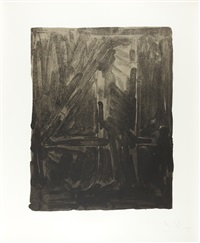 figure 4 aus: black numeral series by jasper johns