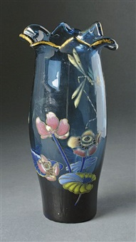 vase by émile gallé