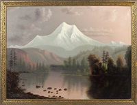 landscape by e. brown young