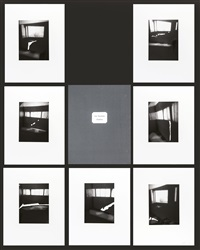 fenêtres (portfolio of 7) (+ fenêtre, color silkscreen; 8 works) by luc tuymans