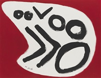idee zum crosta relief by a.r. penck