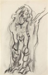 untitled (adam) by willem de kooning