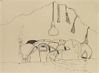 aus sammlung george braziller, new york by philip guston