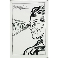 untitled (there were sometimes, in the case, rather happy ambiguities) by raymond pettibon