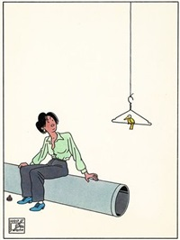 ensemble de illustrations (4 works) by joost swarte