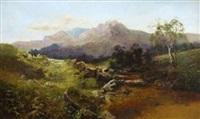 schottische gebirgslandschaft by c. austin