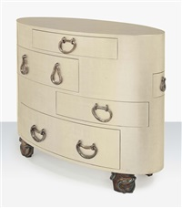 kawakubo, a chest of drawers by elizabeth garouste and mattia bonetti