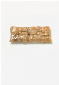wrapped new york times, june 13, 1985 by christo and jeanne-claude