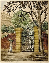 charleston gates, sc by leon rene pescheret