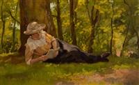 in the haagsche bosch by louis soonius