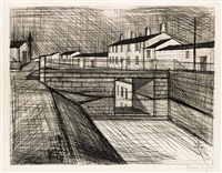 le canal by bernard buffet
