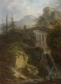 gebirgslandschaft by friedrich rauscher
