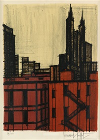new york vii by bernard buffet