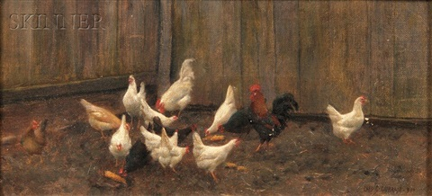 feeding time by charles courtney curran
