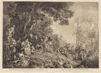 l'embarquement pour cythères by jean antoine watteau