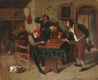 Steen In Interieur : Jan steen artnet page