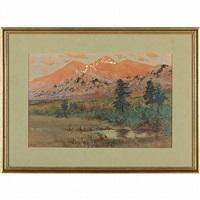 long's peak by charles partridge adams