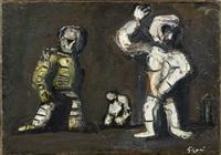 astronauti by mario sironi