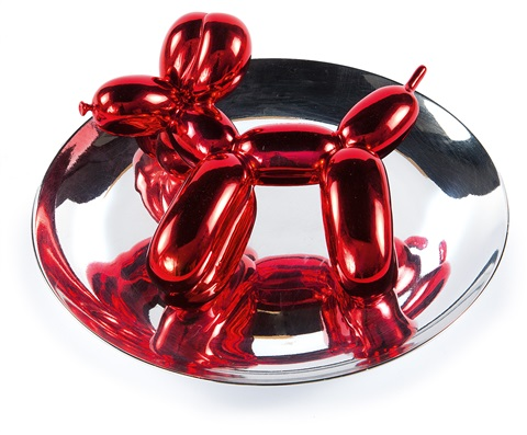 balloon dog by jeff koons