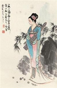 抱琴侍女 by gu bingxin