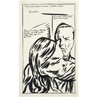 untitled (thus had grown in him a little habit....) by raymond pettibon