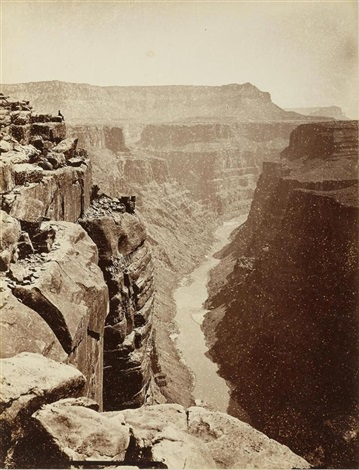 grand canyon colorado river ariz by john k hillers