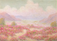 desert in bloom by charles westly nicholson