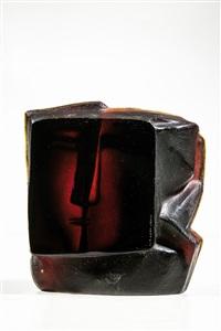 ''der kuss'' (kopf mit zwei gesichtern) by stanislav libenský and jaroslava brychtová